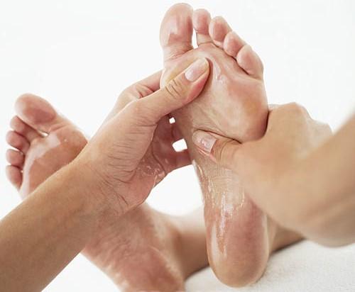 การบริหารฝ่าเท้าและข้อเท้า