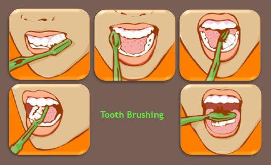 การแปรงฟันที่ไม่ทำให้เกิดคราบจุลินทรีย์